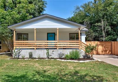Travis County Single Family Home Active Contingent: 4304 Hank Ave