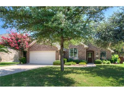 Pflugerville Single Family Home For Sale: 2104 Heritage Well Ln