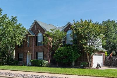 Cedar Park Single Family Home For Sale: 804 Crocus Dr