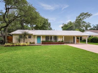Austin Single Family Home For Sale: 5708 Highland Hills Dr