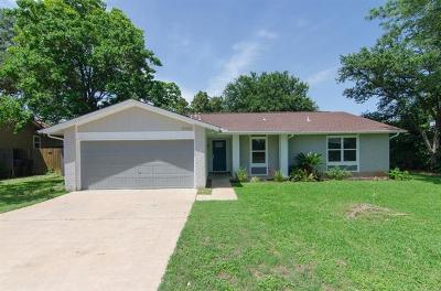 Travis County, Williamson County Single Family Home For Sale: 10900 Opal Trl