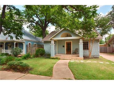 Austin Single Family Home For Sale: 4003 Avenue D