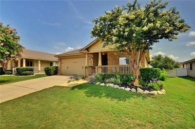 Pflugerville Single Family Home For Sale: 1500 Portchester Castle Path