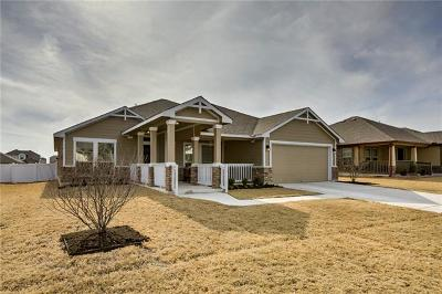 Pflugerville Single Family Home For Sale: 1119 Craters Of The Moon Blvd