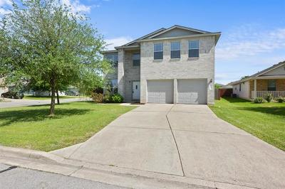 Hutto TX Single Family Home For Sale: $210,000