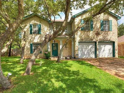 Cedar Park Single Family Home For Sale: 1709 Mackenzie Ln