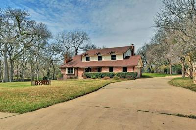 Round Rock Single Family Home Pending - Taking Backups: 1800 Shadowbrook Cir