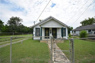 Taylor Single Family Home For Sale: 504 Martin Luther King Jr Blvd