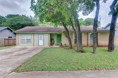 Austin Single Family Home For Sale: 7101 West Gate Blvd