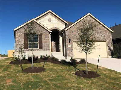 Round Rock Single Family Home For Sale: 6801 Brindisi Pl