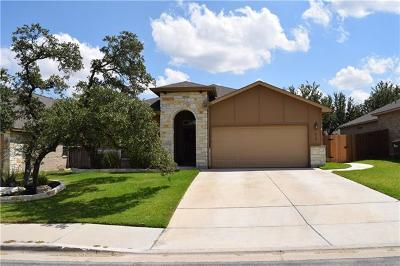Georgetown Single Family Home For Sale: 610 Algerita Dr