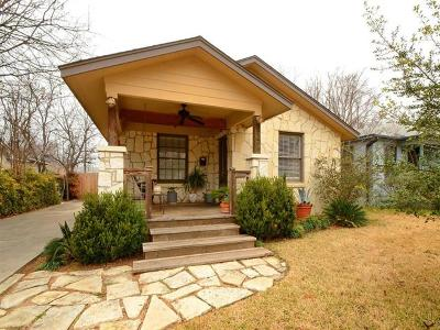 Travis County Single Family Home For Sale: 5400 Sunshine Dr