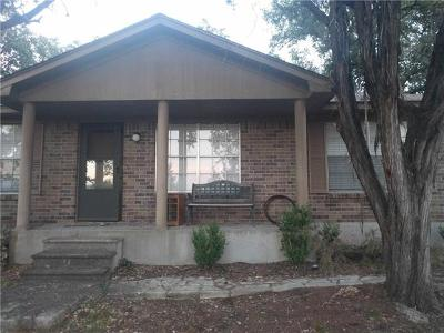 Lago Vista Single Family Home For Sale: 21203 Little Loop