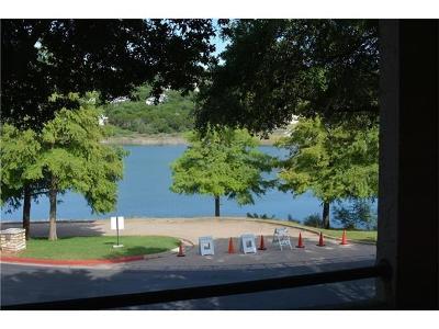Lago Vista Condo/Townhouse For Sale: 3404 American Dr #3108