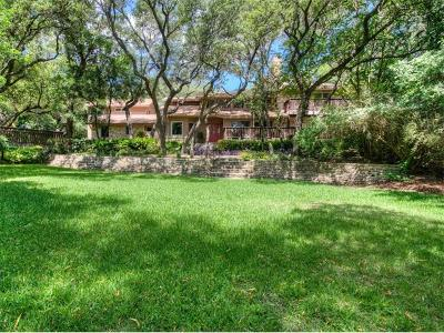 West Lake Hills TX Single Family Home Pending - Taking Backups: $1,250,000