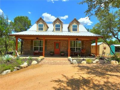 Spicewood Single Family Home For Sale: 4709 Little Creek Trl