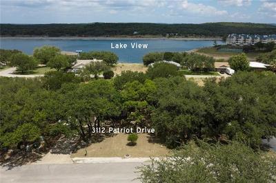 Lago Vista Single Family Home For Sale: 3112 Patriot Dr