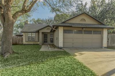 Cedar Park Single Family Home For Sale: 3013 Red Bay Dr