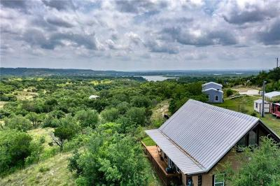 Marble Falls Single Family Home Pending - Taking Backups: 28537 Paradise Manor Dr