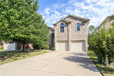 Round Rock Single Family Home For Sale: 3447 Shiraz Loop