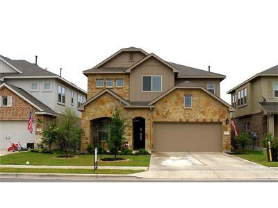 Leander Single Family Home For Sale: 524 Rancho Verde