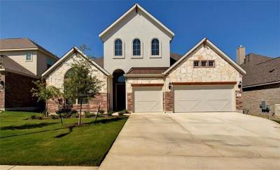 Leander Single Family Home For Sale: 841 Richardson Ln