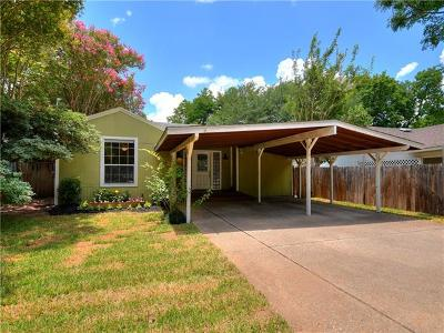 Austin Single Family Home Pending - Taking Backups: 4607 Gonzales St