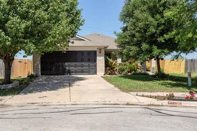 Hutto Single Family Home For Sale: 1105 Meagan Cv