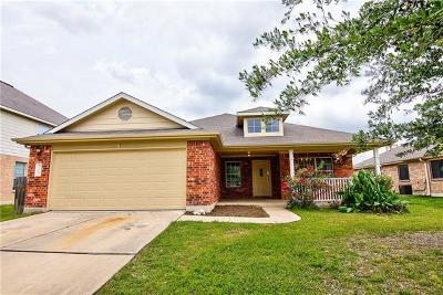 Hutto TX Single Family Home For Sale: $228,000