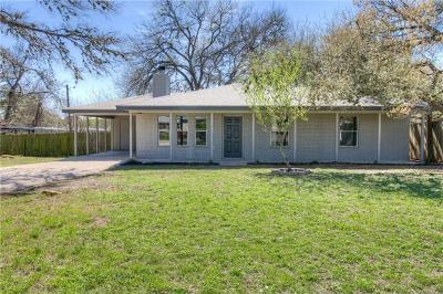 San Marcos Single Family Home Pending - Taking Backups: 309 Harmons Way