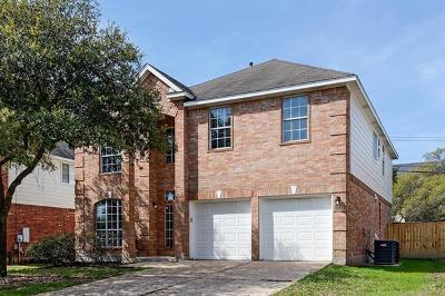 Austin Single Family Home Pending - Taking Backups: 15845 Garrison Cir