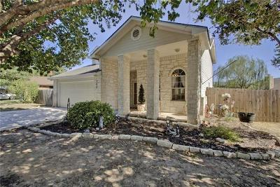 Hutto Single Family Home Pending - Taking Backups: 105 Cottonwood Dr