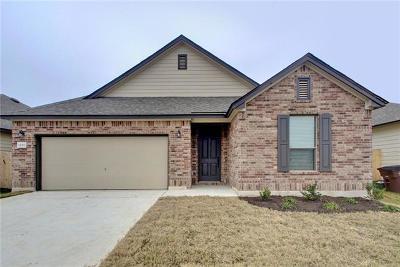 Manor Single Family Home For Sale: 12313 Franklin D Roosevelt St