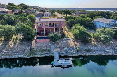 Lago Vista Single Family Home For Sale: 20313 Continental Dr