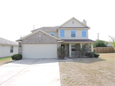 Hutto Single Family Home For Sale: 237 Pentire Way