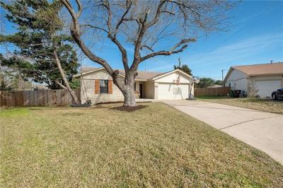 Round Rock Single Family Home Pending - Taking Backups: 1105 Morning Dew Cv