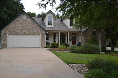 Marble Falls Single Family Home For Sale: 1204 Doe Run