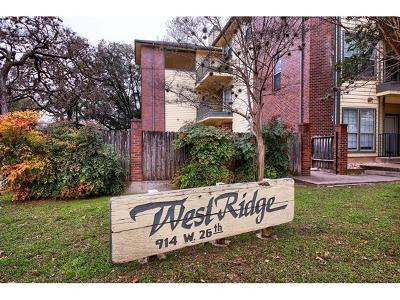 Austin Condo/Townhouse For Sale: 914 W 26th St #207