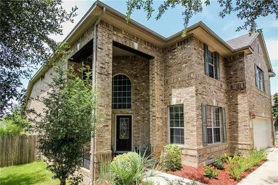 Cedar Park Single Family Home For Sale: 2207 Bindon Dr