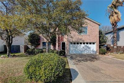 Round Rock Single Family Home For Sale: 1130 Forest Bluff Trl