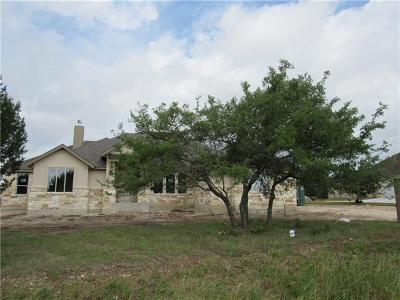 Liberty Hill Single Family Home For Sale: 320 Joya Dr