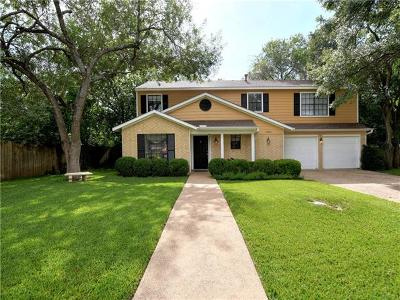 Round Rock Single Family Home For Sale: 2302 Creekview Dr