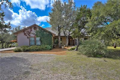 Dripping Springs Single Family Home For Sale: 2202 Harmon Hills Rd