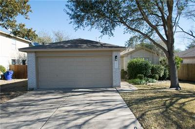 Cedar Park TX Single Family Home For Sale: $205,000