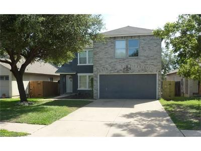 Cedar Park Single Family Home For Sale: 2524 Stapleford Dr