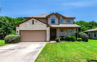 Travis County, Williamson County Single Family Home For Sale: 2600 Haselwood Ln
