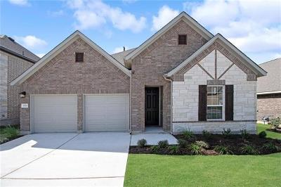 Round Rock Single Family Home For Sale: 6716 Verona