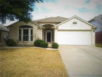 Round Rock Single Family Home For Sale: 808 Hank Aaron Ln