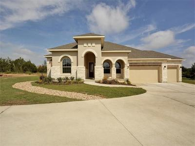 Dripping Springs Single Family Home For Sale: 1170 Bearkat Canyon Dr