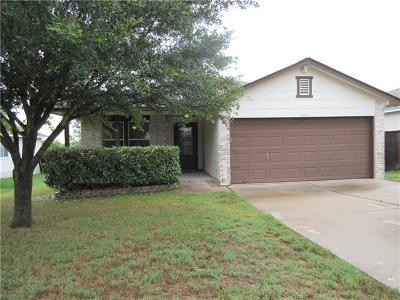 Hutto Rental For Rent: 1004 Estate Dr